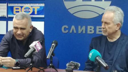Борис Борисов и Илиян Симеонов