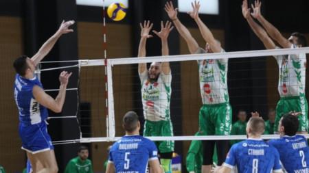 Волейболистите на Левски се изкачиха на трето място