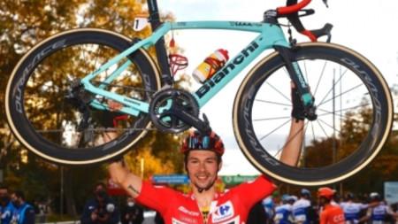Примож Роглич спечели за втора поредна година колоездачната обиколка на Испания