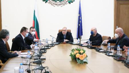 Срещата при премиера Бойко Борисов