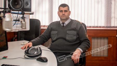 Антон Колев, началник на РСПБЗН Стара Загора