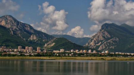 Панорамен изглед към Враца