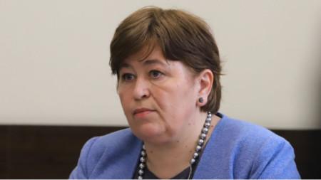 Bulgaria's caretaker Minister of Tourism Stela Baltova