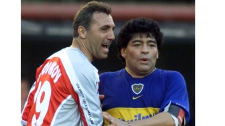 Христо Стоичков и Диего Марадона бяха големи приятели