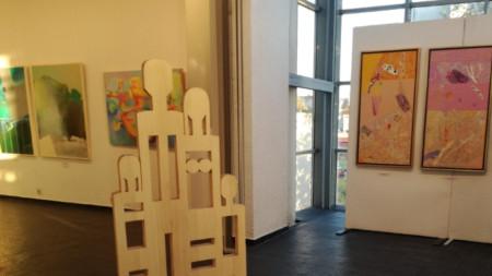 Част от изложбата