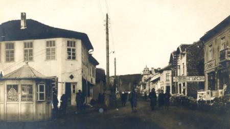 Старият Самоков, от който все още има запазени къщи.