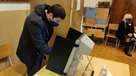 Парламентарни избори, 04.04.2021 г., гр. Варна, ОУ