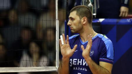 Цветан Соколов отбеляза 14 точки за Зенит (Казан).