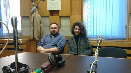 Антония Фингарова и Петър Чучулигов