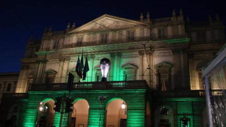 Сградата на Ла Скала в Милано