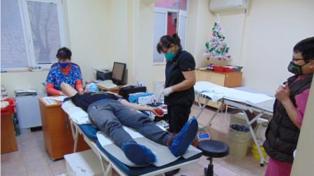 Кръводарителски център - Шумен