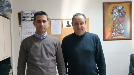 Иван Чергеланов и Огнян Драганов