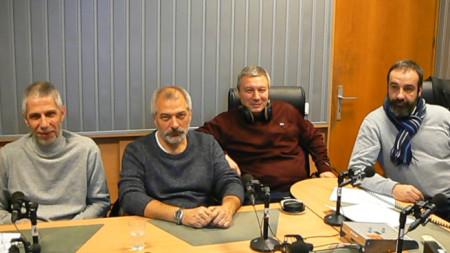 Николай Аретов, Пламен Митев, Митко Новков и Светослав Риболов