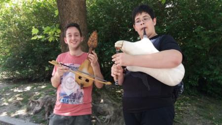 Илия и Денислав