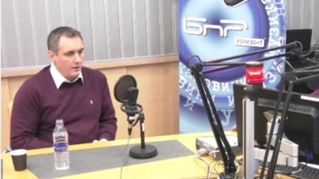 """Калин Славов в студиото на """"Неделя 150"""""""