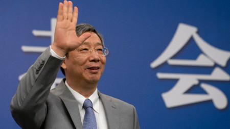 Управителят на Китайската централна банка И Ган