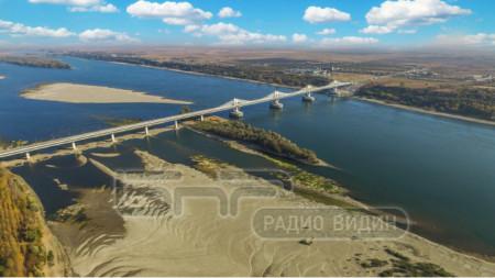 Дунав мост 2, снимка от дрон