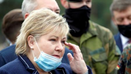 Ерна Сулберг, министър-председател на Норвегия