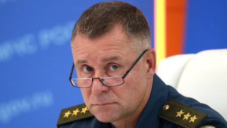 Министърът на извънредните ситуации на Русия Евгений Зиничев