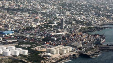 Могадишу, районът край пристанището на сомалийската столица.