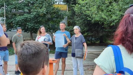 Жители от 17 микрорайон във Варна