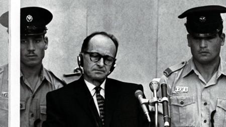 Процесът срещу Афолф Айхман в Ерусалим през 1961 г.