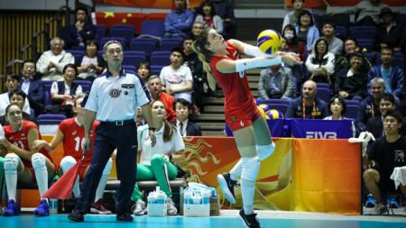 Мирослава Паскова записа 20 точки в мача.