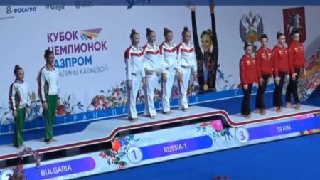 Българските девойки се класираха втори отборно в Москва