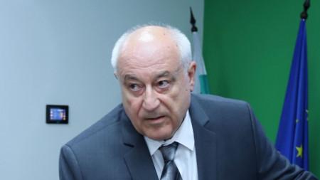 Министърът на околната среда и водите Асен Личев.