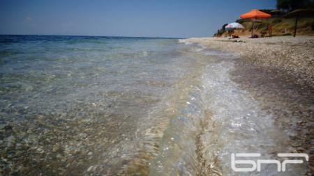 Бяло море край Марония, Гърция