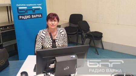 Ирена Радева - началник на РУО - Варна