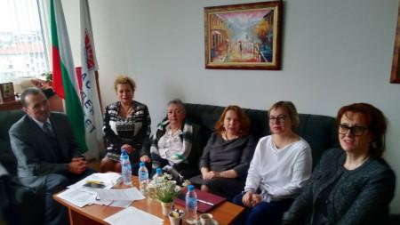 Веселин Цанков, Анелия Торошанова, Момяна Гунева, Мария Слвова, Татяна Кльонова, Мария Нейкова