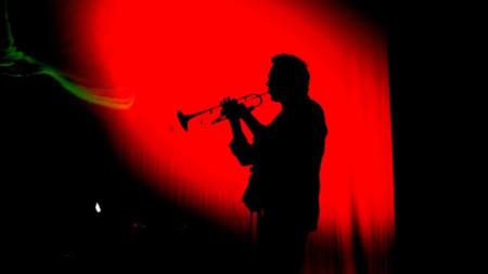 Норвежкият тромпетист Нилс Петер Молвар на джаз фестивала в Скопие