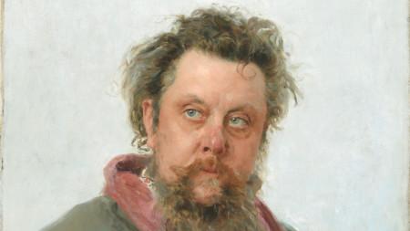 Портрет на Мусоргски от Иля Репин