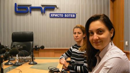 Теменужка Спасова и Надя Янакиева