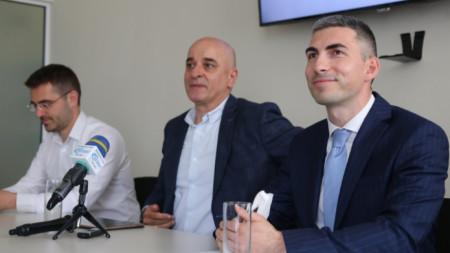 Христиан Петров, Николай Стойнев и Владимир Данаилов