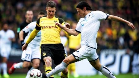 Нико Шулц (вдясно) вече ще играе за Борусия (Дортмунд).