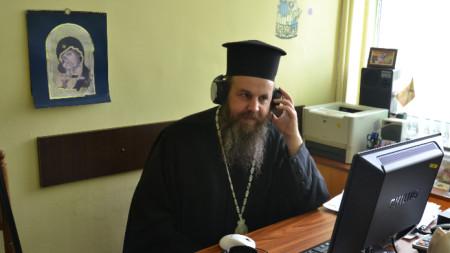 Неврокопският митрополит Серафим в подготовка на предаването