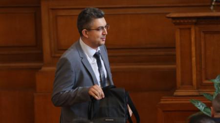 Пламен Николов в Народното събрание - 4 август 2021 г.
