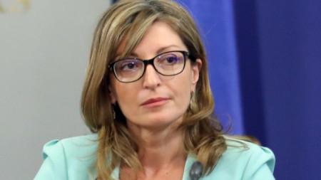 Министр иностранных дел Екатерина Захариева