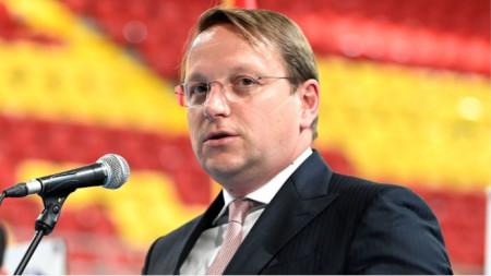 Komisioneri i Zgjerimit të BE Olivér Várhelyi