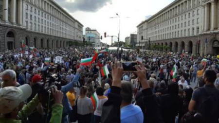 Sofya, 2020 yılı protestoları