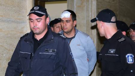 Викторио Александров през 2018 година, когато съдът го остави в ареста