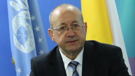 Председатель Болгарской торгово-промышленной палаты Цветан Симеонов