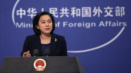 Хуа Чунин, говорител на външното министерство на Китай
