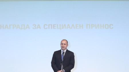 На церемонията по награждаването през 2019 г.