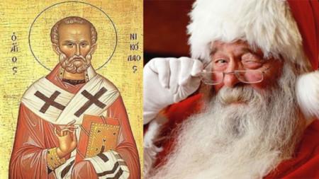 Широко разпространена е хипотезата, че св. Николай е първообразът на Дядо Коледа