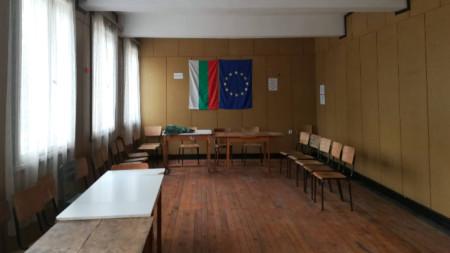 Избирателна секция във видинското село Жеглица
