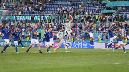 Италия победи Уелс и спечели първа група на европейското първенство