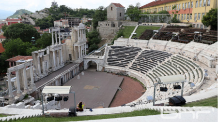 Античный театр, Пловдив